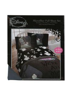Disney Alice In Wonderland Microfiber Full Sheet Set | Hot Topic