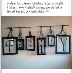 Craft for the home