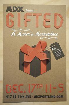 paper letter, gift poster, handmade posters, handmad poster
