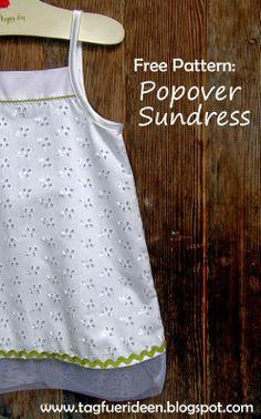 popov sundress, free pattern