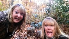 Selfies with bears are trending. The arboretum staff recently encountered a bear on the arboretum grounds. This is NOT recommended. This trend does open a needed conversation on leaving wildlife undisturbed when visiting public nature preserves. If anyone really wants a bear selfie... a safe one, visit the EJC Arboretum at JMU and post on the arboretum's social media! jmu.edu/arboretum, follow social media links on any page!