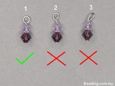 Detailed tute on making loops.  #wire #jewellry #tutorial