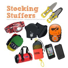 Stocking Stuffer Ideas for Paddler by David, he's working at the Rock/Creek Paddlesports & Outlet #kayak #canoe #gift