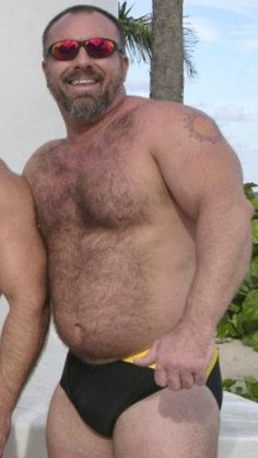 The whole 'package' - in a Speedo