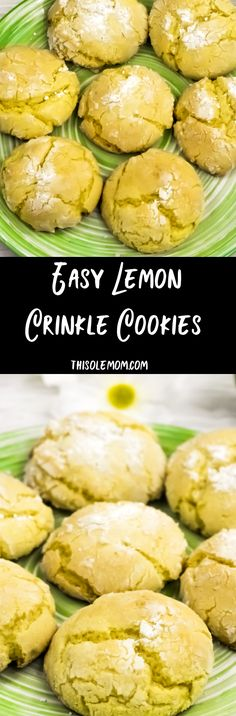 Easy Lemon Crinkle C