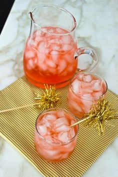 cranberry juice, st. germain, club soda + vodka.