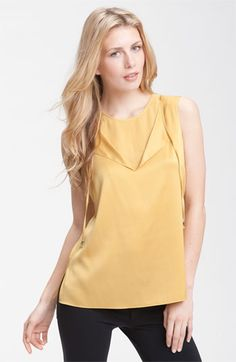 Tahari silk top