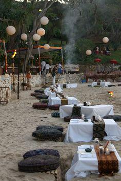 Bali - Dinner on the beach - Four Seasons