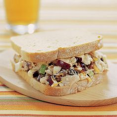 recip sandwich, sandwiches, chicken salads, food, cook countri, cooking, yummi, chicken salad recipes, country