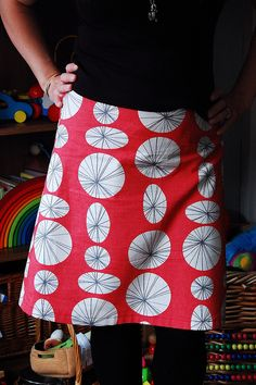 how to draft your own a-line skirt pattern, by indiaeden, via Flickr