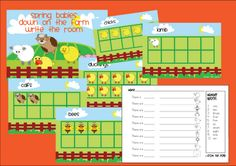free numbers 1-10 activity