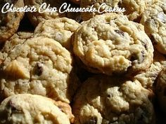 But Mama, I'm Hungry!: Chocolate Chip Cheesecake Cookies