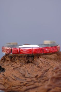 Spiny Oyster Shell Bracelet | Navajo Spiny Oyster Jewelry | Authentic Native American Jewelry