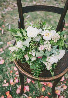 SHOW ME: BACKYARD WEDDING INSPIRATION #white #fern #flowers #wedding #bouquet #bride #bridal #reception #ceremony    Photo by http://nectarinephotography.com/blog/