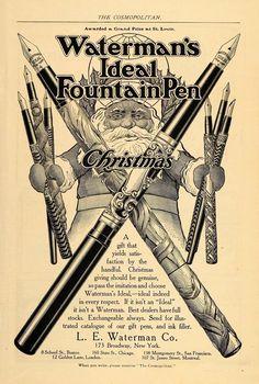 Waterman's Ideal Fountain Pen (1904)