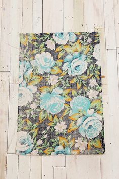 Urban Outfitters - Faded Rose Printed Rug  Front door? $48