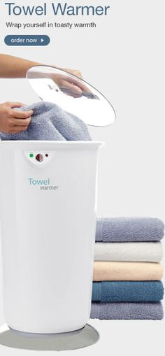 Towel Warmers/Blanket Warmers.. Need this! product, warmersblanket warmer, futur, buy, dream, towel warmersblanket, awesom, towels, thing