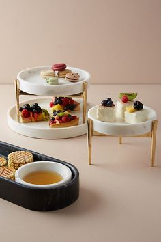 Betti Two-Tier Cake Stand. Anthropologie