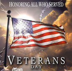 Veteran's Day - Thank you all.