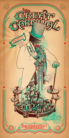The Great Carnivale by Eric van den Boom -- design, illustration, packaging, environmental, campaign