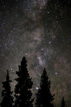 Colorado night on Kebler Pass