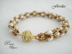 Pattern of the bracelet FLORALIES from Passion Bijoux by DaWanda.com