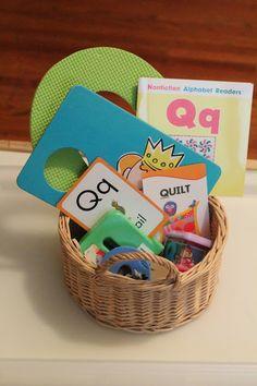 The Kavanaugh Report: Letter Q Tot School Week 2