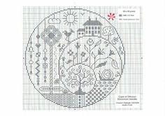 BLACKWORK-esquemas spirals, embroideri mathemat, needlework, crossstitch, blackworkesquema pág, cross stitch, punto de cruz, work stitch