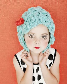 Marvelously Mod Crochet Wigs by Regina Rioux Gonzalez