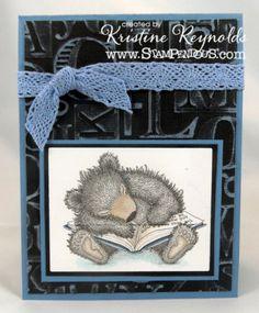 sleepy reader card by kristine reynolds