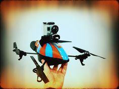 Ar drone + gopro HD by VilleHoo, via Flickr