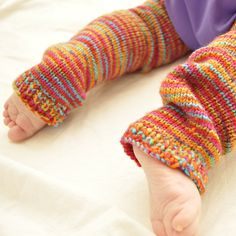 Baby Leg Warmers pattern