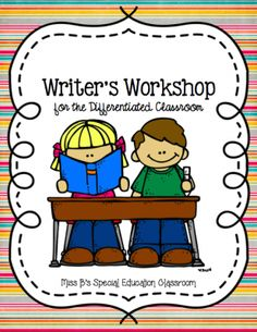 Writers Workshop for the Differentiated Classroom from Mrs. P's Special Education Classroom on TeachersNotebook.com -  (125 pages)  - 125 Pages of Writer's Workshop Lesson Plan, Anchor Charts, Graphic Organizers, Idea Cards, Rough Drafts, Final Drafts, Word Wall Cards