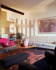 "Blogged on ""I Love Mid Century, A Collector's Apartment in San Diego"""