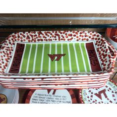 VT Hokies Serving Tray