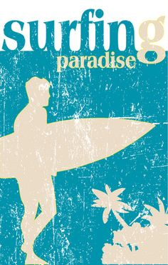 Retro Surf Art***Research for possible future project.