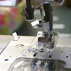 Tips for sewing with invisible nylon thread.