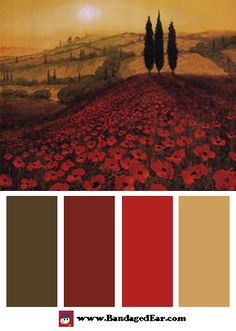 Beautiful Tuscan Color Scheme : Tuscan Colors on Pinterest