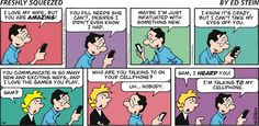 #smartphone love #cartoon