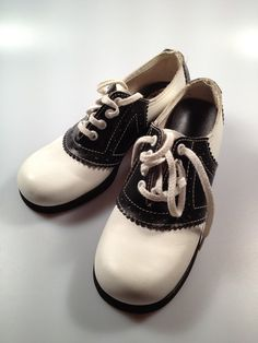 1970s Vintage SADDLE SHOES for Little by rememberwhenemporium, $32.50