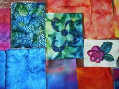 fabric paint, art project, 10 techniqu, journal techniqu, paint techniqu, design idea, fiber art, fabric dye, craft fabric