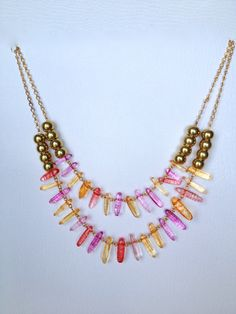 Bib Necklace by Hibiscus03 on Etsy, $45.00