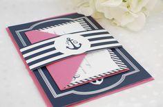 Nautical Wedding Invitation Suite