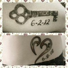 Husband and wife tattoo