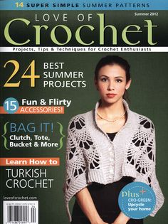 REVISTAS DE MANUALIDADES PARA DESCARGAR GRATIS: Love of Crochet summer 2012
