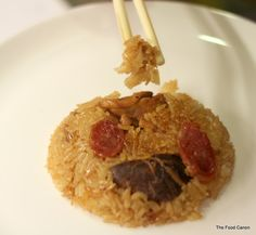 The Food Canon - Inspiring Home Cooks: Auntie Ruby's Loh Mai Kai - Steamed Glutinous Rice with Chicken