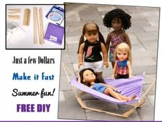 How-to make a doll hammock :)