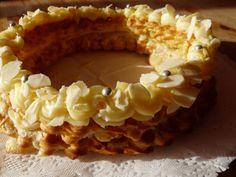 roscon de reyes con pasta choux