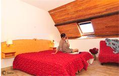 Une chambre de la résidence