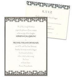 Savannah 2-Layer Wedding Invitations